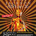 Evènement: Michael Jackson - HIStory 20 - Le 29 mai 2015
