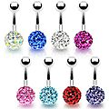 Piercing <b>nombril</b> strass