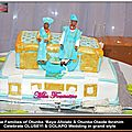 Gâteau de mariage Louis Vuitton/Oluseyi & Dolapo Nigerian Traditional <b>wedding</b> <b>cake</b>