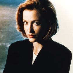 Gillian Anderson, à l'époque de la folie X-Files