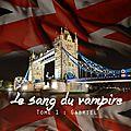 Le Sang du Vampire - Tome 1 : Gabriel de Cybelia Chris