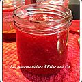 Confiture de fraise