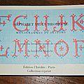 Livre alphabet de la brodeuse Edition l'Inédite