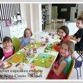 Atelier cupcakes enfants du 17 avril 2015 - Nîmes