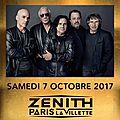 MARILLION en Concert EXCEPTIONNEL le Samedi 7 octobre 2017- <b>Zénith</b> de Paris _ Billetterie Ouverte Le 9 Dec 2016 ! ;)