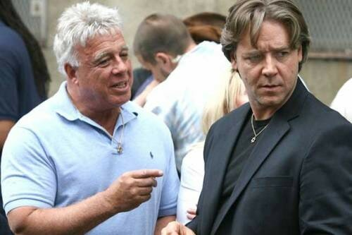 RICHIE ROBERTS & RUSSELL CROWE