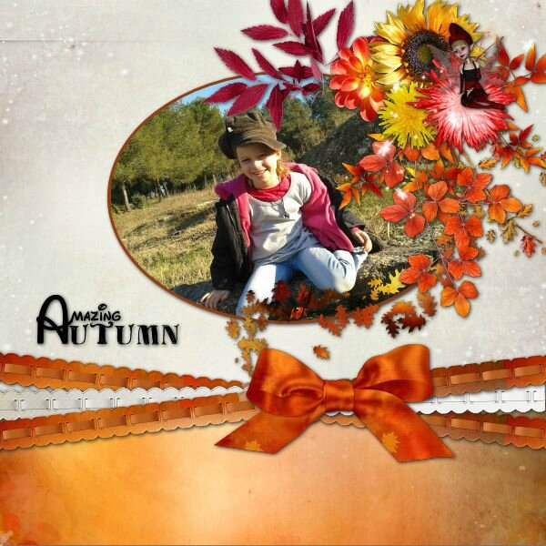 Flomelle - template 1 pack 3 - kit Magic Autumn de LouiseL - photo Caroline