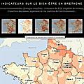 Indicateurs sur le bien-être en Bretagne