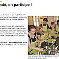 Atelier Brunch de Candé 2013 - un article dans la <b>Nouvelle</b> <b>République</b>