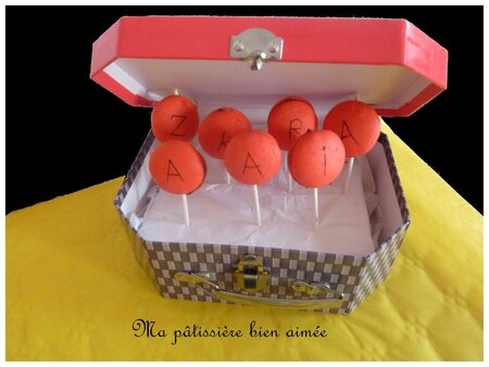 sucettes macarons