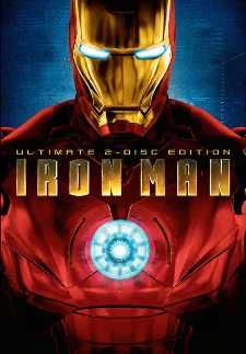 Iron Man en DVD