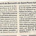 NORMANDIE 1775: Bernardin de <b>Saint</b> <b>Pierre</b> invente le tourisme