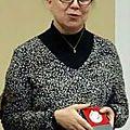 Une Caudrotaise honorée à la Salle des Associations de Caudrot