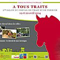 19 et 20 avril - 1er Salon du Cheval de trait et de terroir à Aurillac