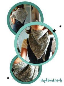 chale facile tricot