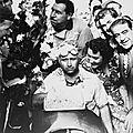 1951: Parti avec l'Alfa-Roméo N°4, Fangio gagne le 37 ème prix de Reims Gueux avec la N°8