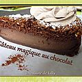<b>Gteau</b> magique au chocolat