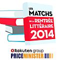 Les matchs de la <b>rentrée</b> <b>littéraire</b> 2014 avec Priceminister