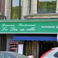 Le Din'en ville Dinant Belgique restaurant