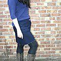Vêtement de la semaine 4 et le vetement du mois de janvier - JUPE <b>TRAPEZE</b> Chouette kit