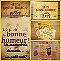 Grande Amatrice et Amoureuse de bon Café, voici ma BOX BONNE HUMEUR RICORE... MeRcI, MeRcI! ☕🙂💕