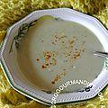 Déclinaison autour du concombre n°1 : Soupe de concombre - Et si on cuisinait le concombre autrement ?