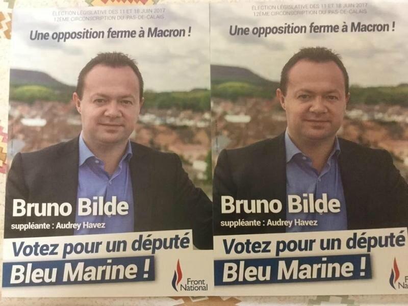 Bruno Bilde affiche 2017