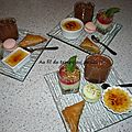 <b>Desserts</b> <b>gourmands</b>