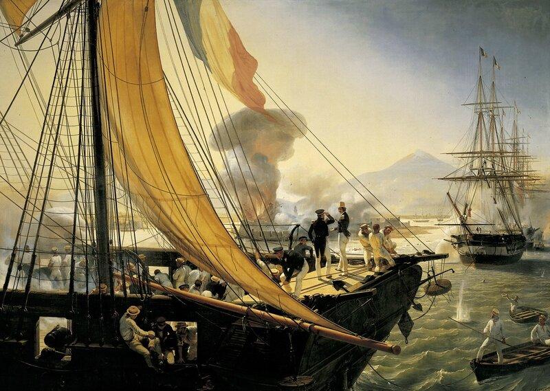 Épisode_de_l'expédition_du_Mexique_en_1838