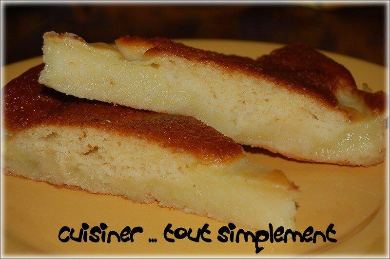 Recette gateau sucre a la courgette