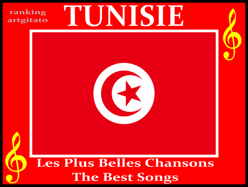 Tunisia Tunisie Les Plus belles chansons Tunisiennes The best songs Artgitato Ranking