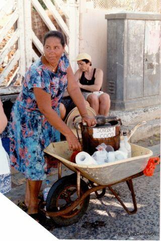 Sorbet coco antillais recette - Sorbetiere en bois traditionnelle ...