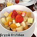 La cuisine végane de la Kryza.