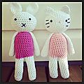 <b>Amigurumis</b> : Hello Kitty et Miffy au crochet