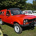 PEUGEOT 504 pick-up Dangel <b>4x4</b> avec hardtop