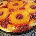 Gâteau à l'ananas caramélisé