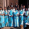 La <b>Chorale</b> Belgo-Burundaise CSFA participe à l'animation des messes de carême 2017 radiodiffusées par la RTBF