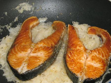recettes  Tourte à la choucroute & au saumon avec sa sauce au raifort