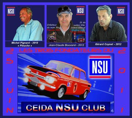 CEIDA NSU CLUB Bandeau 3 Fondateurs