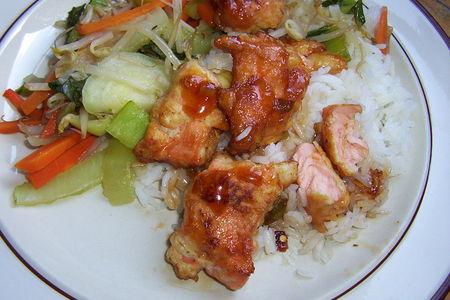 recettes  Poulet Général tao
