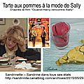 <b>Tarte</b> aux pommes à la mode de Sally