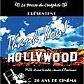 THANK YOU HOLLYWOOD, un livre de Michael Nativel