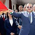 الشعب المغربي فخور بملكه وما تحقق على يدي جلالته من ٱمن وإستقرار ويعبر عن تجنده الذائم وراء قائد الثورة الملك محمد السادس.