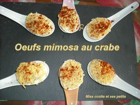 oeufs mimosa au crabe1