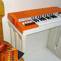 Jeu électronique ... Orgue sur pied BONTEMPI * Orange