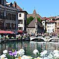 Annecy : la petite Venise