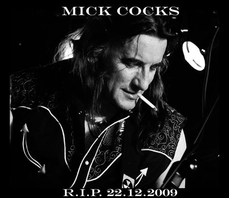 ROSE TATTOO : Mick Cocks, le crabe qui donne mal au foie
