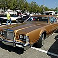Lincoln <b>Continental</b> Mark IV hardtop coupe, 1974