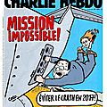 Mission impossible ! - par Coco - Charlie Hebdo N°1203 - 12 août 2015