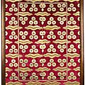 A large and exceptional Ottoman voided silk velvet and metal-<b>thread</b> panel (çatma), Turkey, late 16th-early 17th century